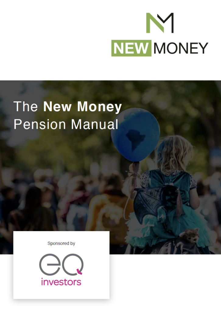 New Money Pension Manual Cover Shot